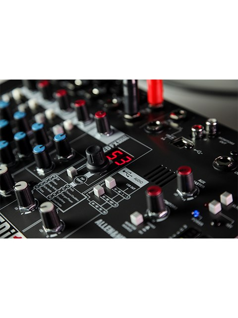 Allen & Heath ZEDi-10FX Hybrid compact mixer / 4×4 USB interface