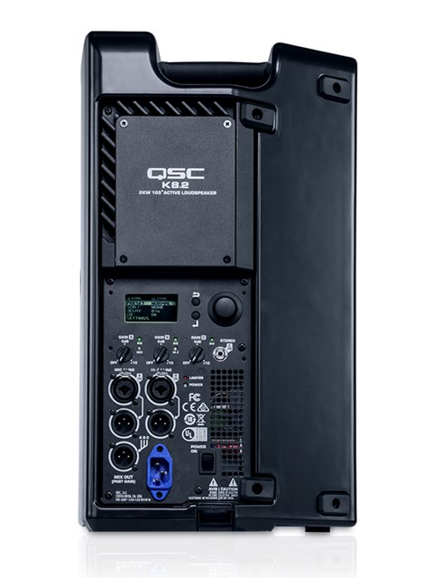 QSC K8.2 Active 8-inch Powered 2000W Loudspeaker
