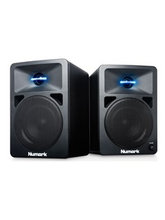 Numark N-Wave 580 Powered Desktop DJ Monitors Speaker
