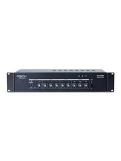 DENON DN-333 6-Channel Line Mixer Amplifier with Bluetooth