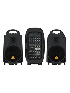 Behringer PPA2000BT 2000W 8-Channel PA System with Bluetooth